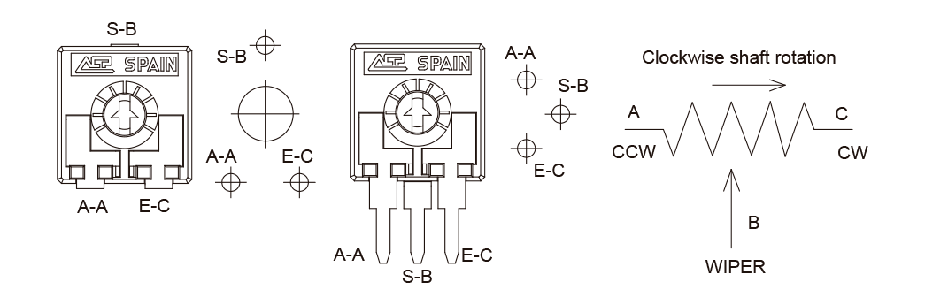 Potentiometer configuration