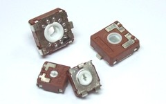 SMD potentiometers available in 9 and 14mm