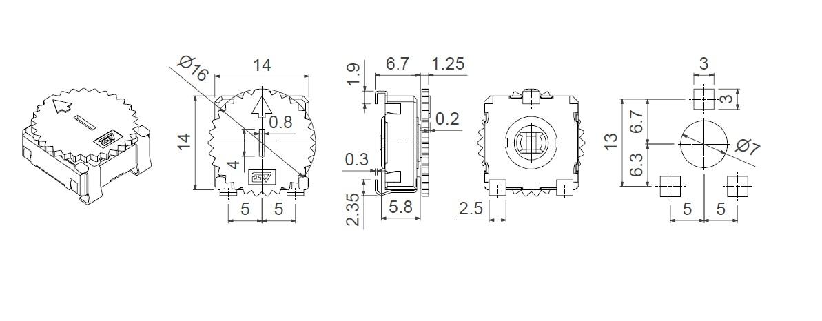 CA14 VSMD WT-14003