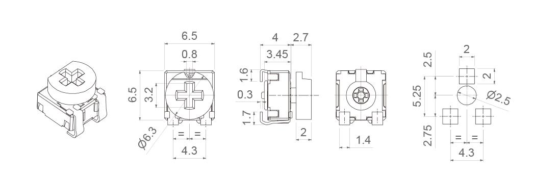 CA6-MODELS-VESMD-WT-6030
