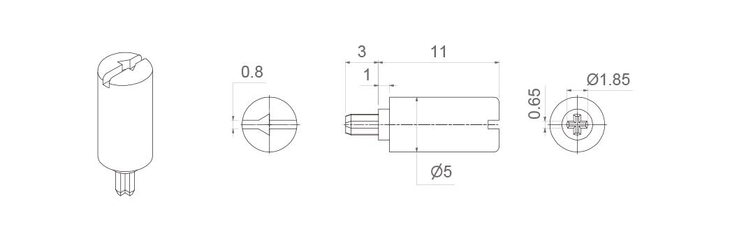 CA6-SHAFTS-6031