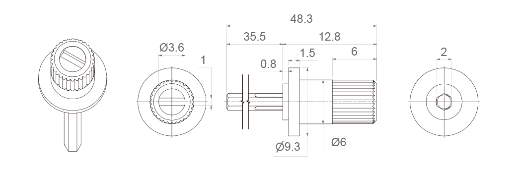 9018 (for 6 ganged potentiometers)