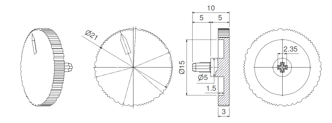 CA9-CE9-SHAFTS-9060