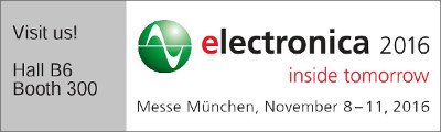 Logo electronica 2016 stand grande