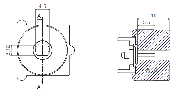 Q16-Rotor inner dimensions