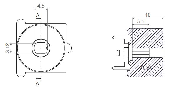 Q16-Rotor inner dimensions