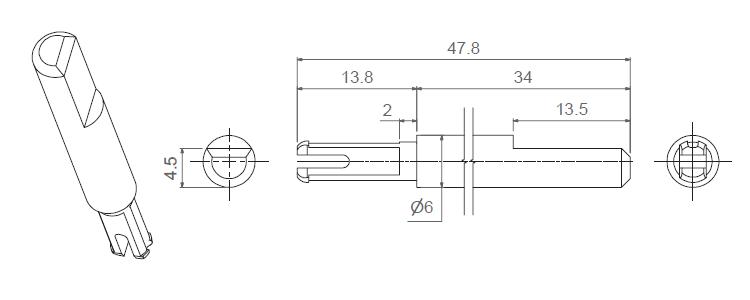 Q16-SHAFTS-14301
