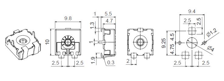 CA9 VSMD CY model