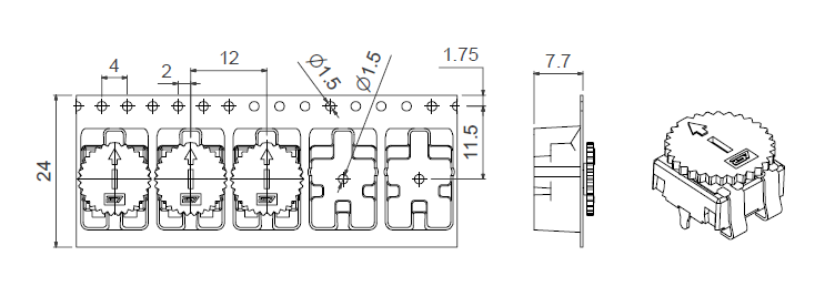 CA9 VSMD TR CY WT 9002 packaging