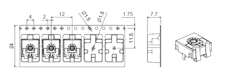 CA9 VSMD TR CY packaging
