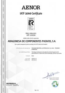 IATF 16949-2016 certificate (English) (15-02-2018)