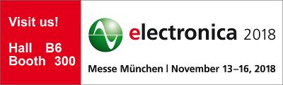 Logo electronica 2018 stand grande escalado