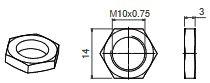 MCA14-MCE14 Tuerca
